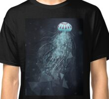 jellyfish with background  Classic T-Shirt