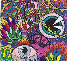 SJK Psychedelic Design by Sarah Klimek