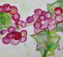 Holly Berries for Seasons Spirit Sticker