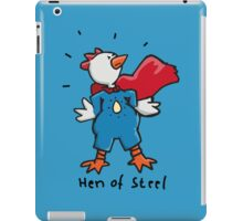 Hen of Steel - Superchicken iPad Case/Skin