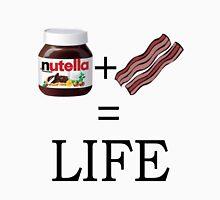 Nutella + Bacon = Life T-Shirt