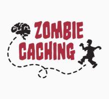 Geocaching - Zombie seeks Brain T-Shirt