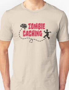 Geocaching - Zombie seeks Brain T-Shirt