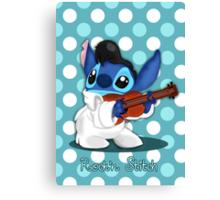 Elvis Stitch Canvas Print