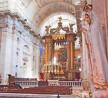 Altar mor da Igreja do Mosteiro de São Vicente de Fora. by terezadelpilar~ art & architecture