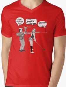 Old Mite Av Beens Joke no21 Mens V-Neck T-Shirt