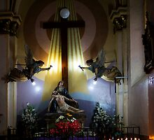 Good Friday Easter Scene by Al Bourassa