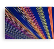 Rainbow Strings Canvas Print