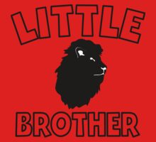 Little Brother Lion Baby Tee