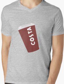 Costa Cup Mens V-Neck T-Shirt