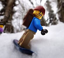 Finally some lowland snow! by bricksailboat