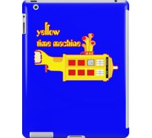 YELLOW TIME MACHINE  iPad Case/Skin
