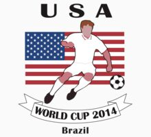 USA World Cup 2014 Kids Clothes