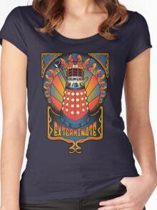 Dalek Nouveau Women's Fitted Scoop T-Shirt