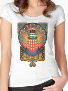 Dalek Nouveau Women's Fitted Scoop T-Shirt