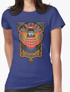 Dalek Nouveau Womens Fitted T-Shirt
