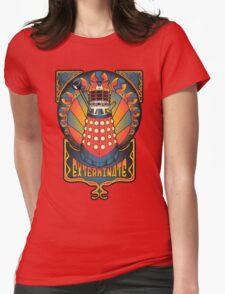 Dalek Nouveau Womens Fitted T-Shirt
