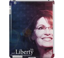 Sarah Palin Patriot iPad Case/Skin