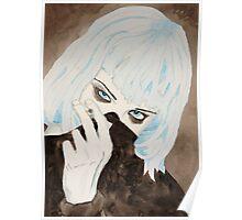 Alice Glass Watercolour Poster
