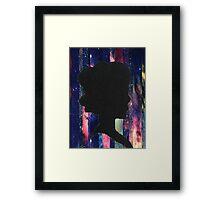 Cameo Galaxy Framed Print