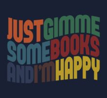 Gimme A Books Baby Tee