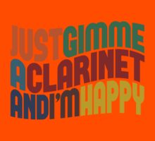 Gimme A Clarinet Kids Clothes