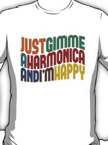 Gimme A Harmonica T-Shirt