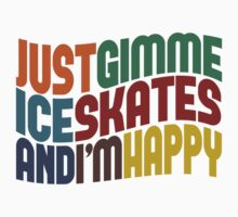 Gimme Ice Skates by Wordy Type