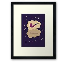 TFiOS Pipe Framed Print