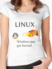 Windows Might Need Some Ice Women's Fitted Scoop T-Shirt