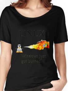 Windows Might Need Some Ice Women's Relaxed Fit T-Shirt