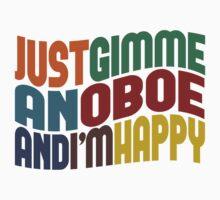 Gimme An Oboe by Wordy Type