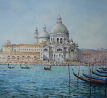 The Salute, Venice  by briancday