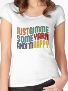 Gimme Some Yarn Women's Fitted Scoop T-Shirt