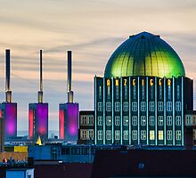 Skyline of Hannover, Germany by Michael Abid