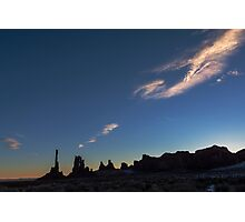 Monument Valley Dawn Photographic Print