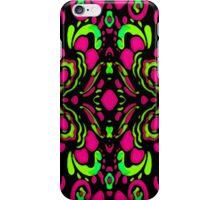 Psychedelic Retro Ornament iPhone Case/Skin
