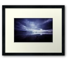 At Lands End IX Framed Print
