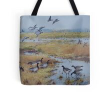 Brent Geese, Cley Marshes Tote Bag