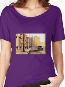 downtown Women's Relaxed Fit T-Shirt