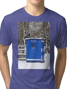 Police phone box Tri-blend T-Shirt
