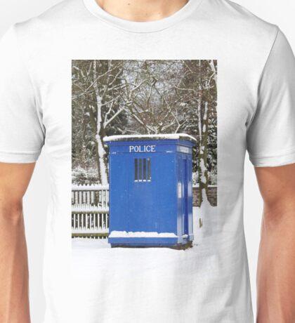 Police phone box Unisex T-Shirt