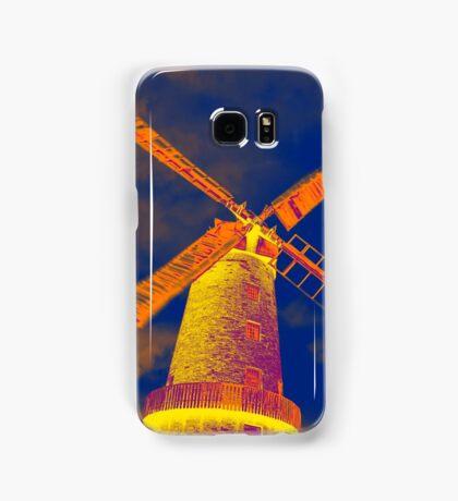 Psychedelic windmill Samsung Galaxy Case/Skin
