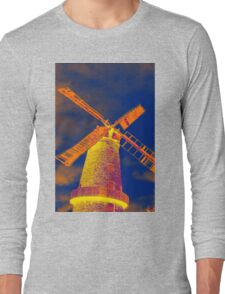 Psychedelic windmill Long Sleeve T-Shirt