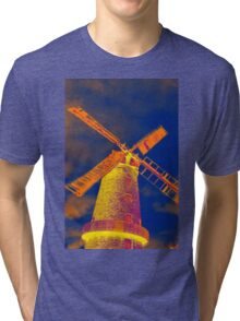 Psychedelic windmill Tri-blend T-Shirt