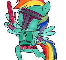 Rainbow Bounty Hunter!   by whitmore55