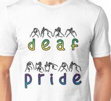DEAF PRIDE, bsl, text Unisex T-Shirt