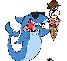 Summer Shark  by whitmore55