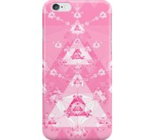 Pink Triangle Fractal iPhone Case/Skin