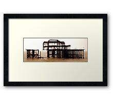 Gone West Framed Print